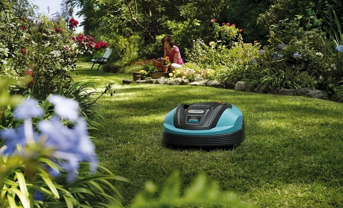 газонокосилка робот gardena r50li обеспечивает эффективную стрижку травы