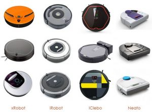 робот пылесос выпускают множество компаний - фото