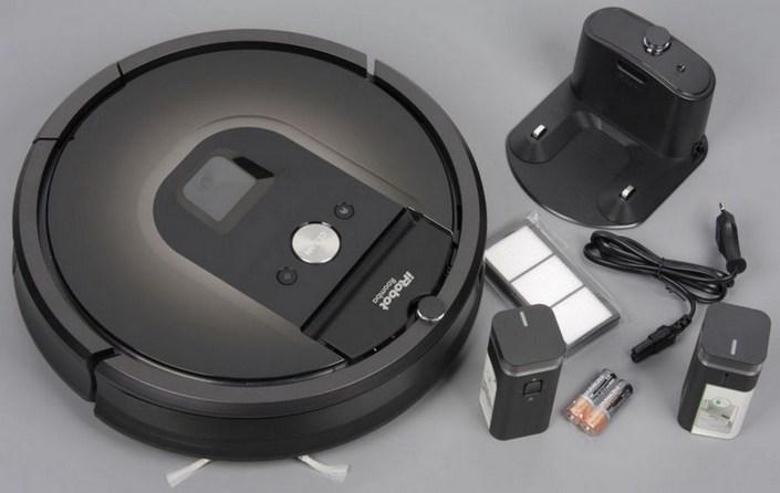 робот пылесос irobot поставляется с комплектующими