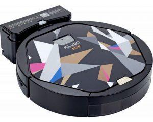 робот пылесос iclebo pop имеет яркий молодежный дизайн