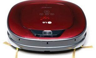 робот пылесос LG фото спереди