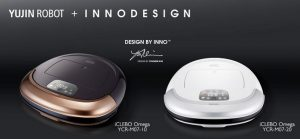 робот пылесос iclebo omega на фото в белом и графитовом исполнении